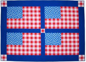 Folk Art Flag Pattern