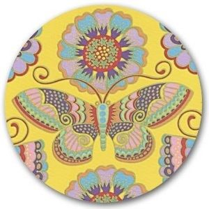 Butterflies & Blossoms Mouse Pad