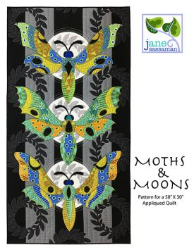 Moths & Moons Quilt Pattern