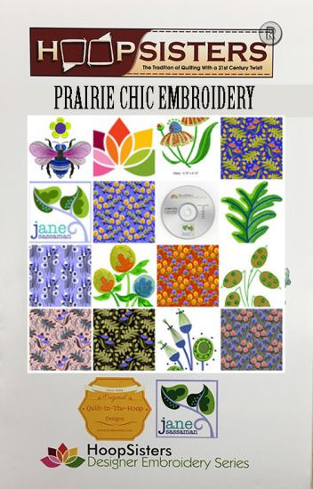 Prairie Chic Embroidery CD Media
