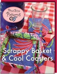 Scrappy Basket & Cool Coasters